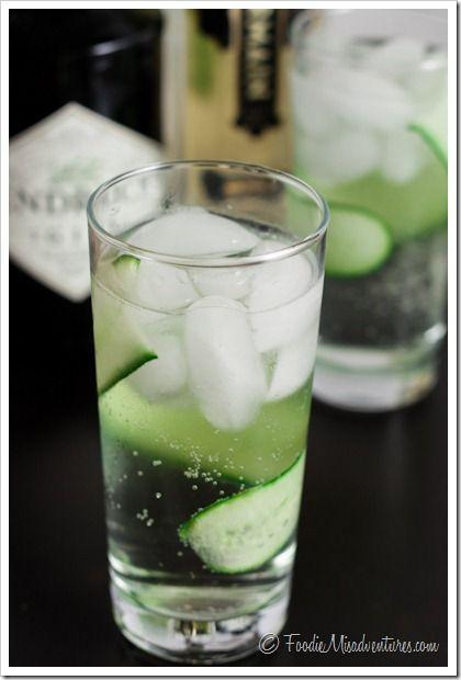 Drink & Dish: Cucumber Gin Fizz | Recipe