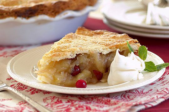 Deep Dish Apple and Cranberry Pie | Favorite Pies & Pastries | Pinter ...
