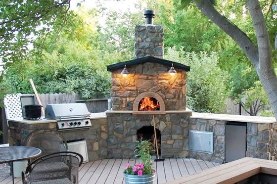 Pin by quita rodriguez on home style outdoors pinterest for Garden ovens designs
