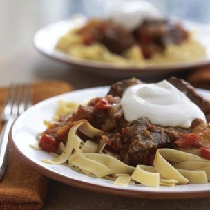 Beef Goulash (Hungarian Paprika) Serve this slow-cooked stew with ...