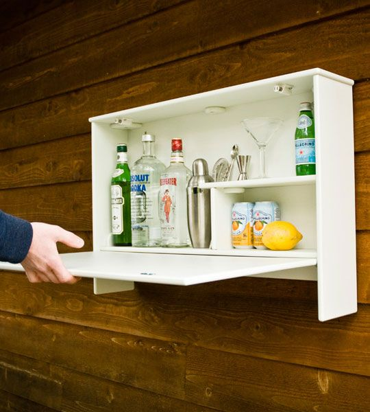 for outdoor cocktail parties the wallbanger liquor cabinet by loll. Black Bedroom Furniture Sets. Home Design Ideas