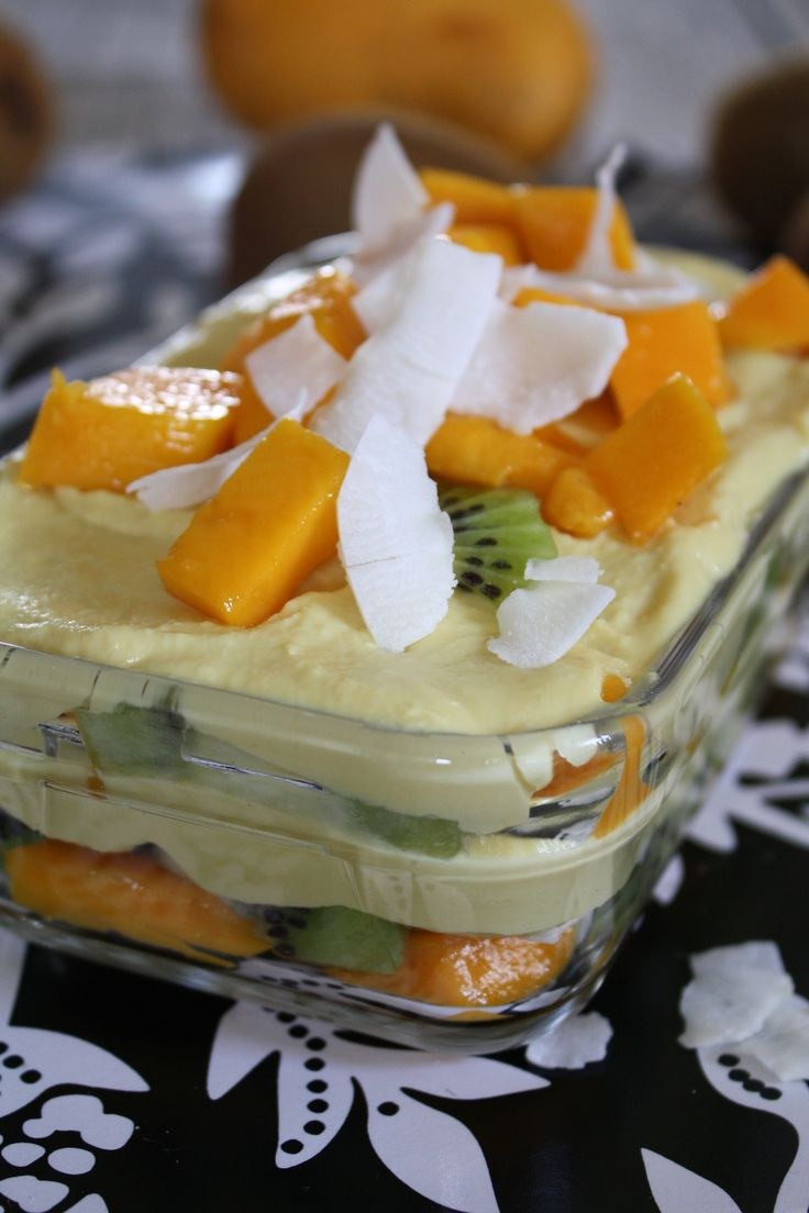 Mango White Chocolate Mousse Parfait   Parfaits & Layer Desserts   Pi ...