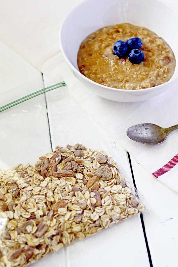... breakfasts fast with these healthy Homemade Instant Oatmeal Packets