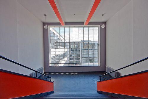 Interiors inside bauhaus interior architecture for Pool design dessau