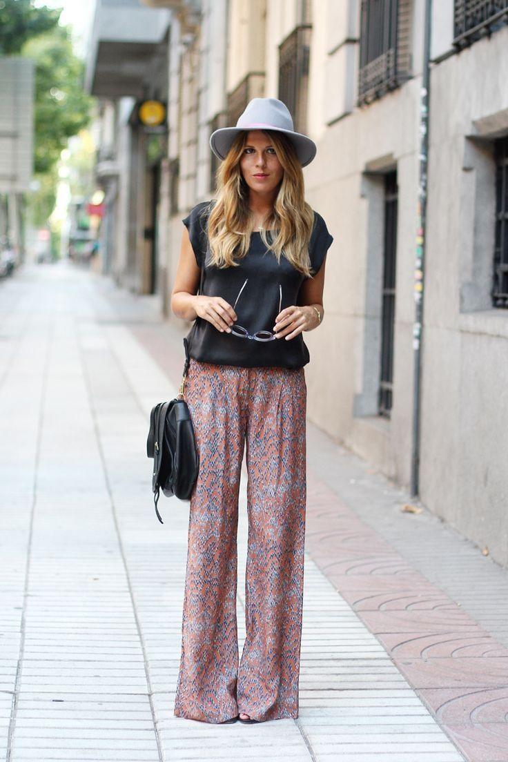 Boho street style chic pinterest Bohemian fashion style pinterest