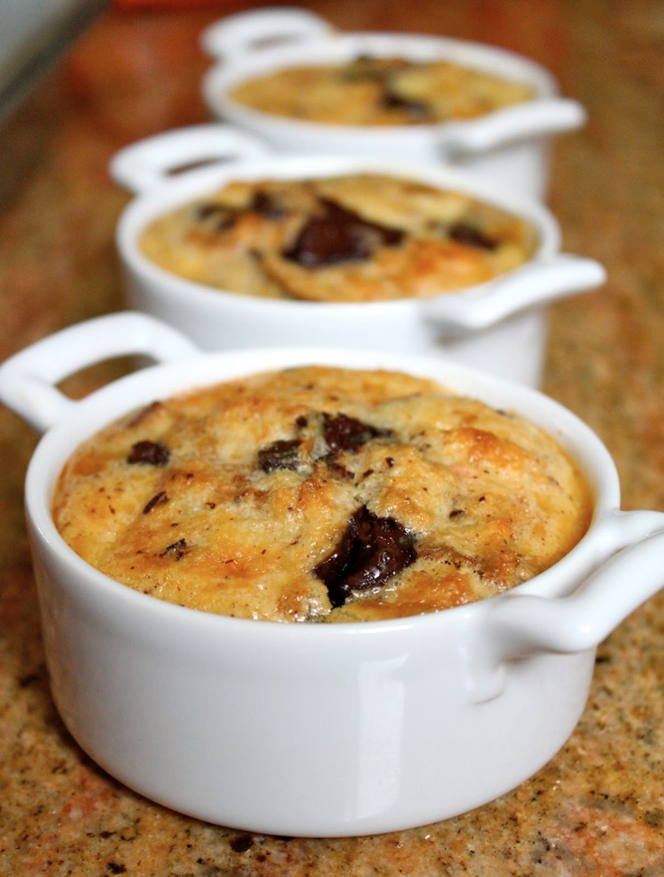 warm chocolate puddings chocolate chip orange zucchini bread ...