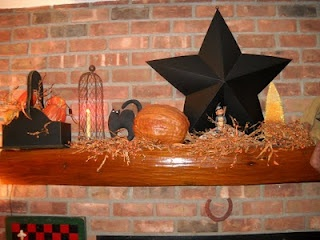 country primitive fall decorations
