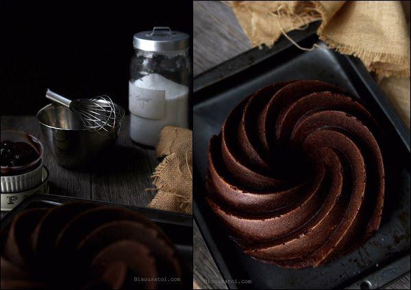 Bisous À Toi Deep Chocolate Sour Cream Pound Cake