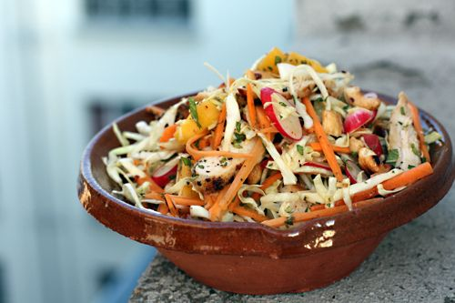 Chicken Mango Slaw | Recipe