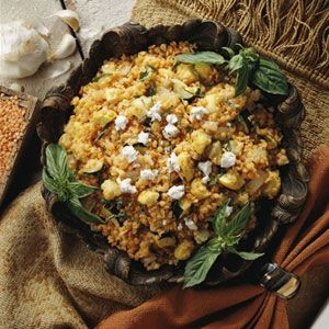 Red Lentil and Roasted Vegetable Salad | Recipe
