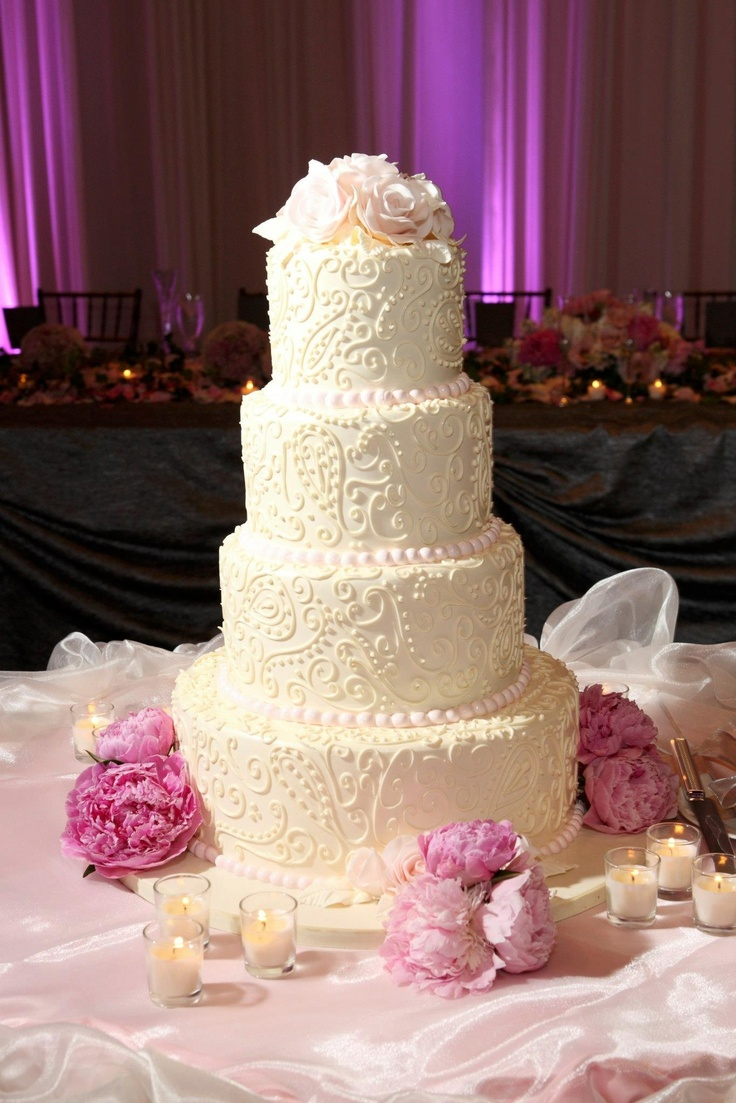 pound cake wedding cake