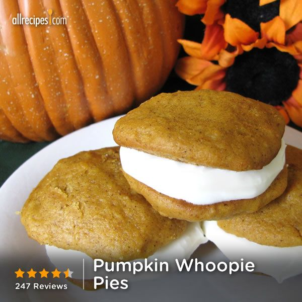 "Pumpkin Whoopie Pies | ""If I could give these 10 stars I would! They ..."