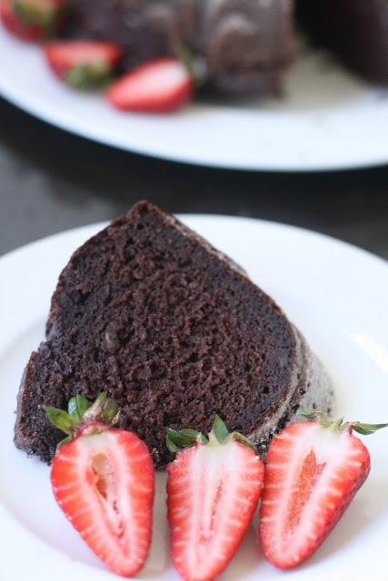 Chocolate Banana Bundt Cake | Food Glorious food :0) | Pinterest