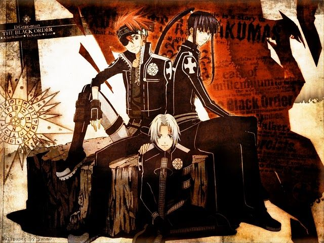 Allen, Kanda and Lavi | D.Gray-man | Pinterest