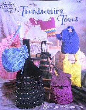 Trendsetting Totes Bags and Purses American School of Needlework 1251