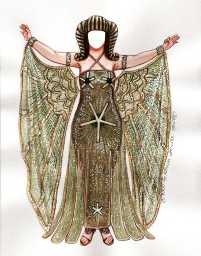 Cleopatra | Paper Dolls: Royalty | Pinterest