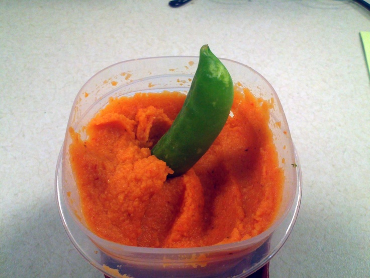 Roasted Red Pepper Hummus 2 cans (15.5 ounces) chick peas, drained 1 ...