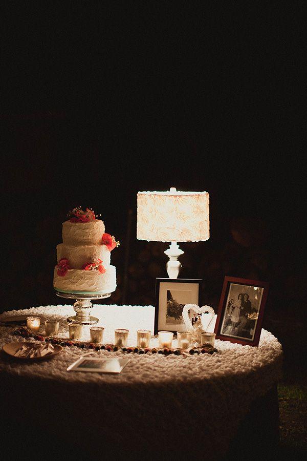 Wedding Cake Table Ideas Wedding Garden Decorations Pinterest