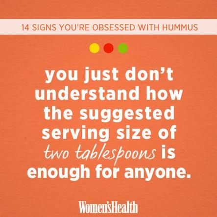 signs youre food obsessed