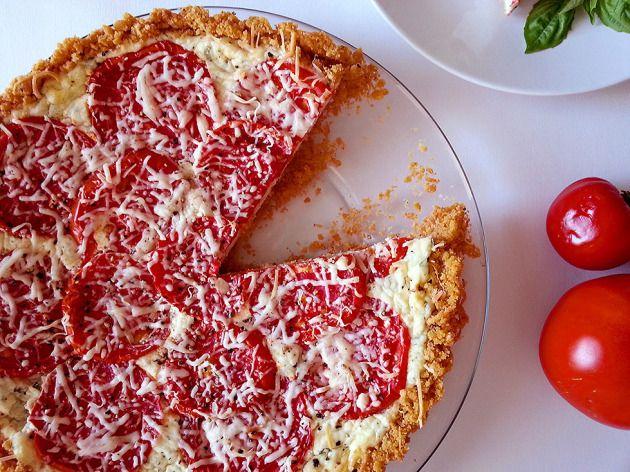 tomato ricotta basil pie(tart) | Food. | Pinterest