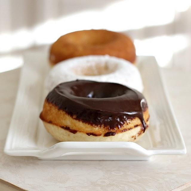 Baked Doughnuts | foods | Pinterest