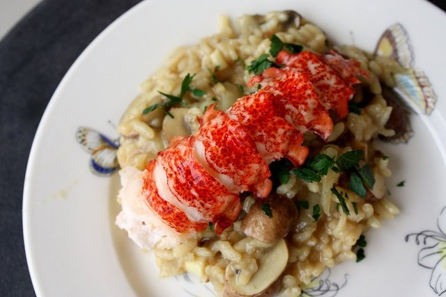lobster risotto | Taste.. | Pinterest