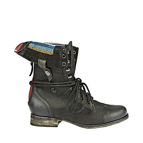 Steve Madden Combat Boots Fold Over Steve madden combat boot with