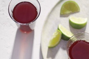 Hibiscus Tea with Lime Recipes | Funny Food | Pinterest