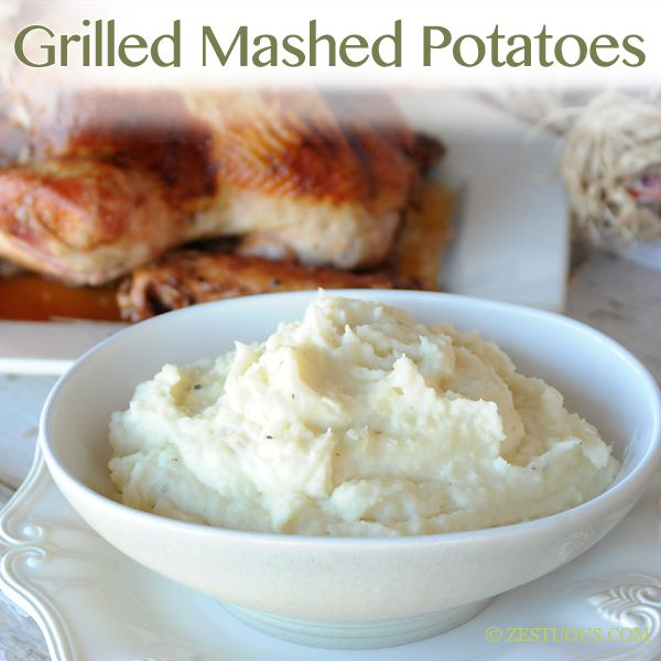 Super creamy, lump-free mashed potatoes. Grilling the potatoes makes ...