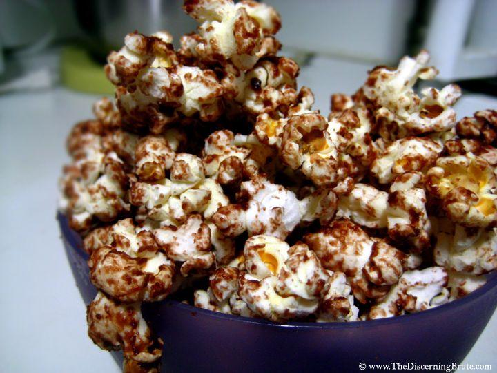 Chocolate Peanut Butter Popcorn. | One Day I'll Resist; Until Then ...