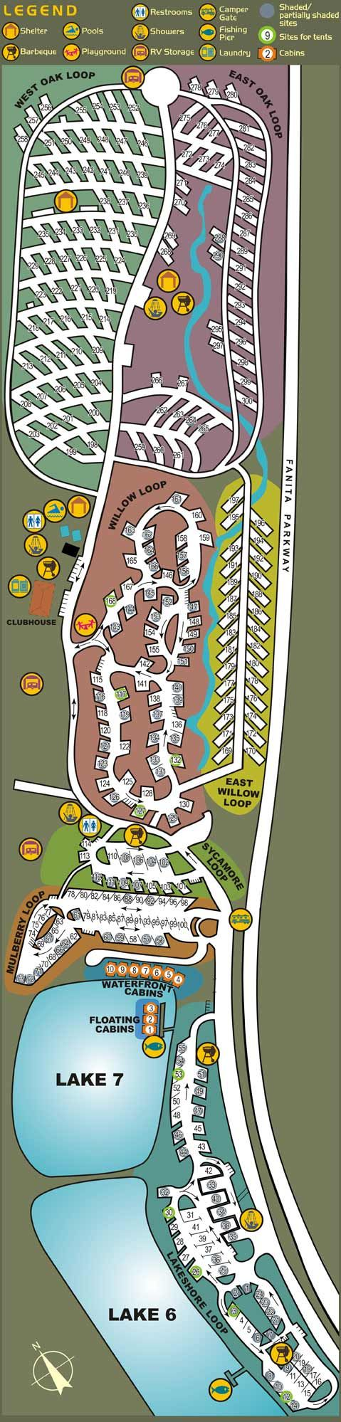 Santee Lakes Campground Site Map Summer Bucket List 2013