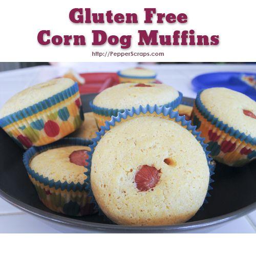 Gluten Free Corn Dog Muffins | Pepper Scraps