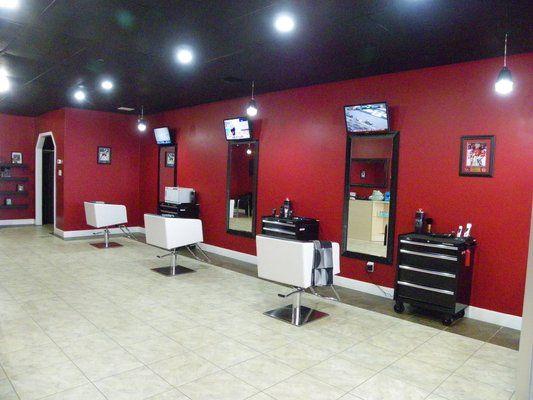 Modern barber shop designs joy studio design gallery for Ideas for barbershop interior designs