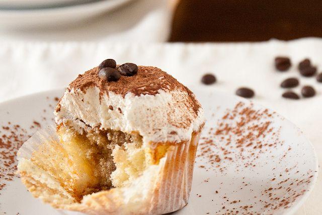 Tiramisu Cupcakes | recipes to make... | Pinterest