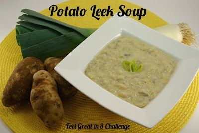 Hearty & Healthy Potato Leek Soup - nothing canned or artificial here ...