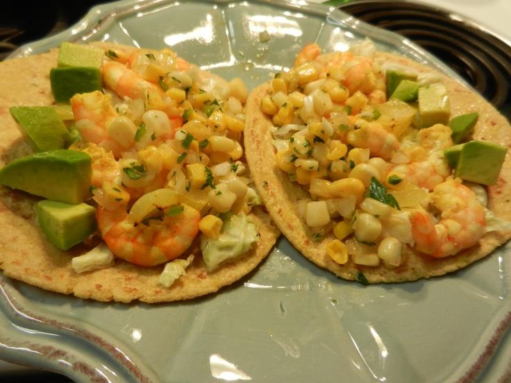 Shrimp and avocado tacos | Recipes | Pinterest