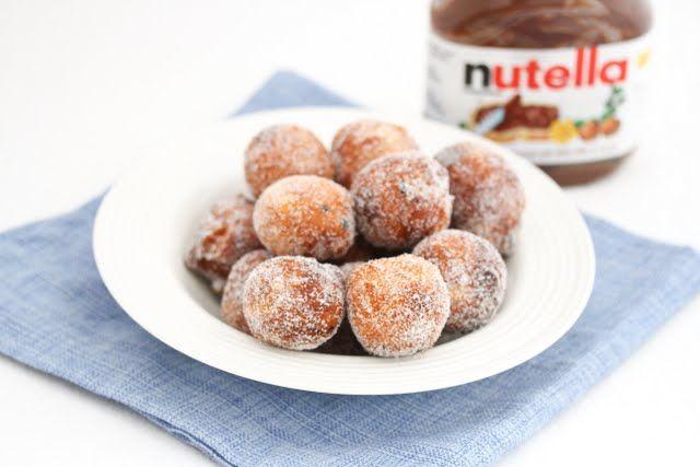 Nutella filled donut holes | Kirbie's Cravings | A San Diego food blog