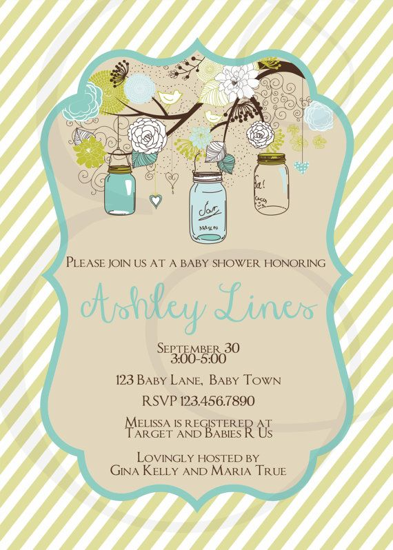 mason jar blue and green baby shower invitation by emmyjosparties 12