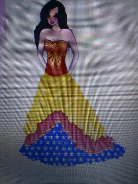 wonder woman wedding dress idea batman partys weddings