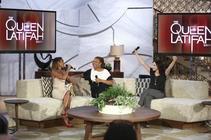Queen Latifah Show Jada Pinkett Smith