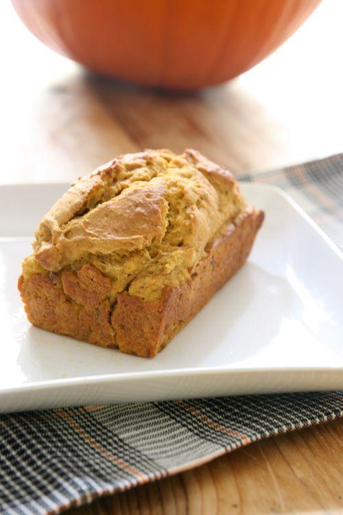 Mini-Pumpkin Bread with Greek Yogurt   Bread/muffins/carb load   Pint ...