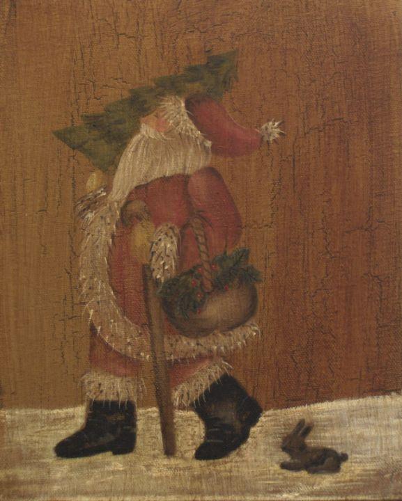 Primitive Oil Paintings