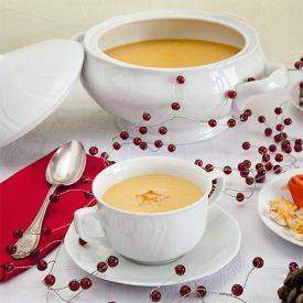 soup made with smoked trout and salmon. It's perfect for a Christmas ...