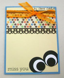 Cherie's Corner of the World: Eye Miss You