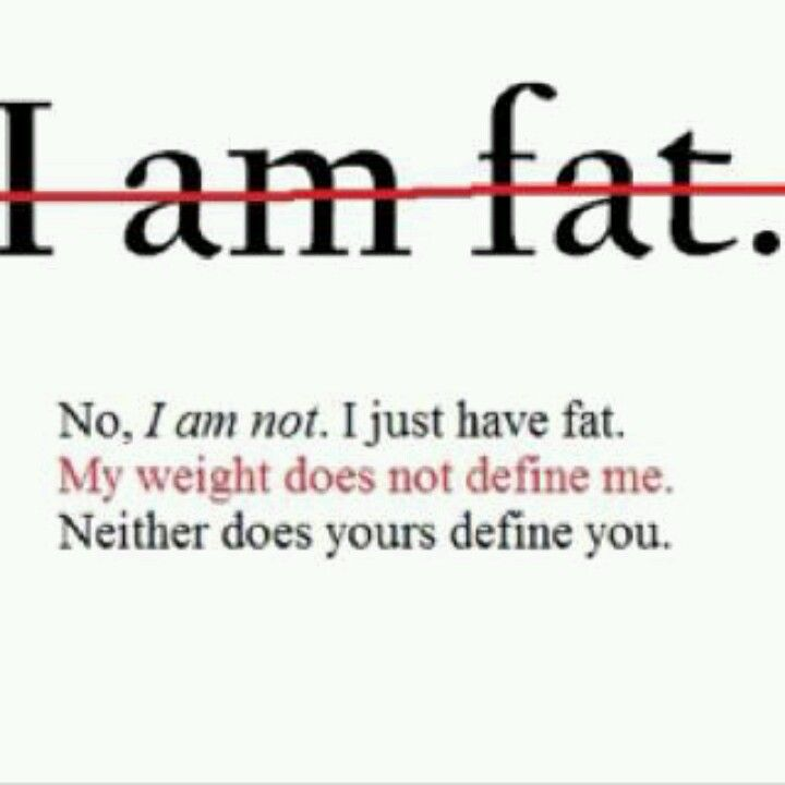 you are not fat quotes