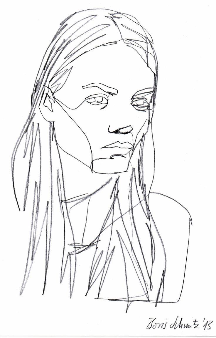 One Line Drawing Tumblr : Borris schmitz