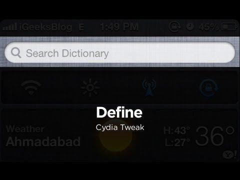 locate iphone cydia