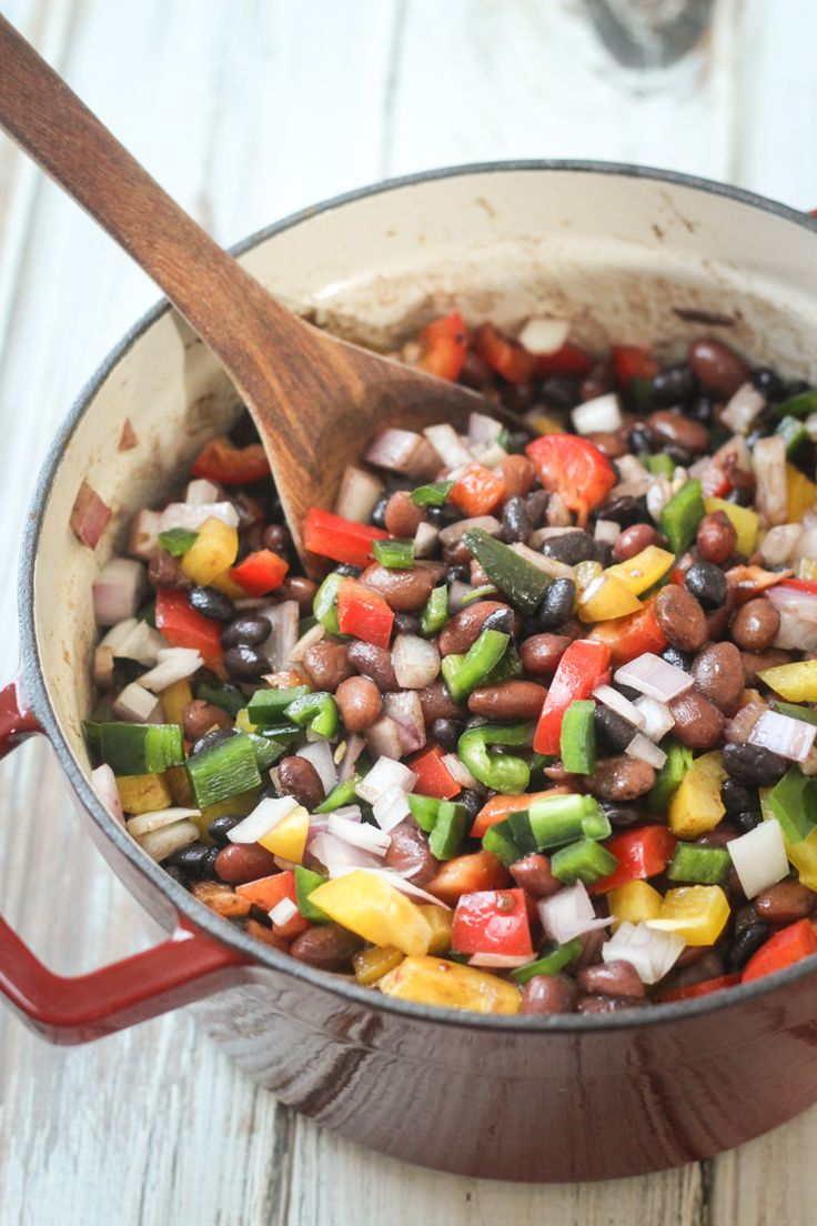 Mexican Three Bean and Three Pepper Salad can use this recipe to cook ...