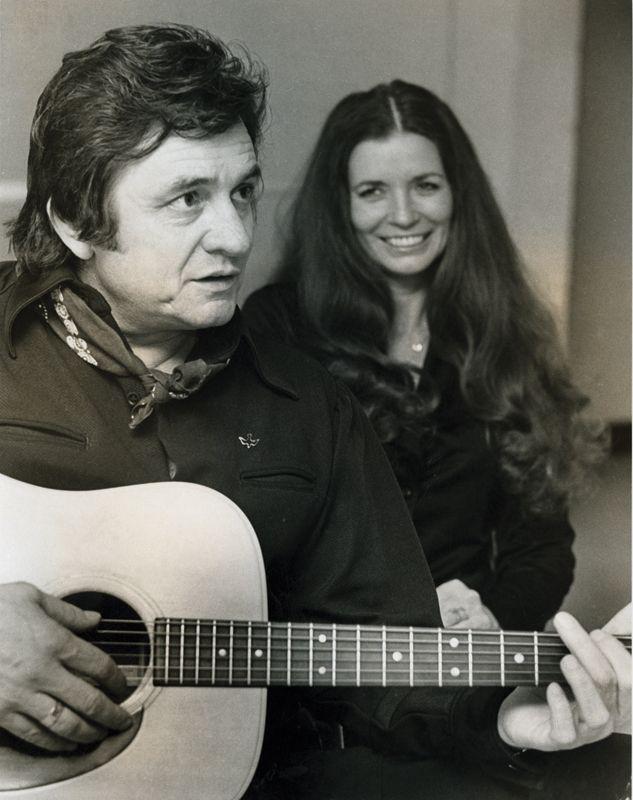 Johnny Cash And June Carter Cash Teamwork Pinterest
