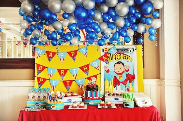 superhero birthay party